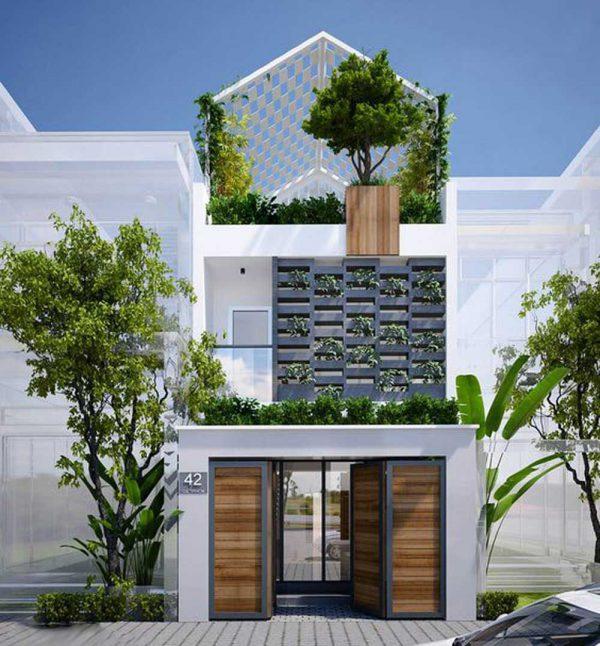 Thiết kế kiến trúc chính là việc bạn bố trí, sắp đặt không gian
